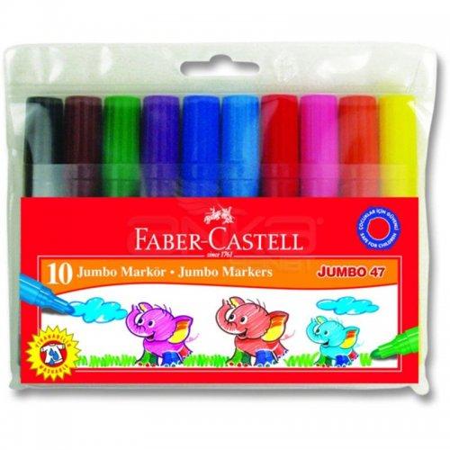 Faber Castell Jumbo Markör 10lu 30047