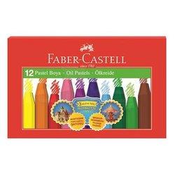 Faber Castell - Faber Castell Pastel Boya 12 Renk 000070