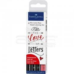 Faber Castell - Faber Castell Pitt Artist Pen Kaligrafi Setleri (1)