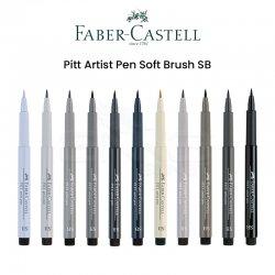 Faber Castell - Faber Castell Pitt Artist Pen Soft Brush SB