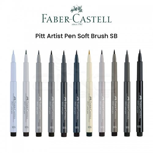 Faber Castell Pitt Artist Pen Soft Brush SB