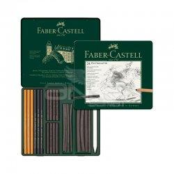 Faber Castell - Faber Castell Pitt Charcoal Set 24lü