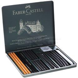 Faber Castell - Faber Castell Pitt Charcoal Set 24lü (1)