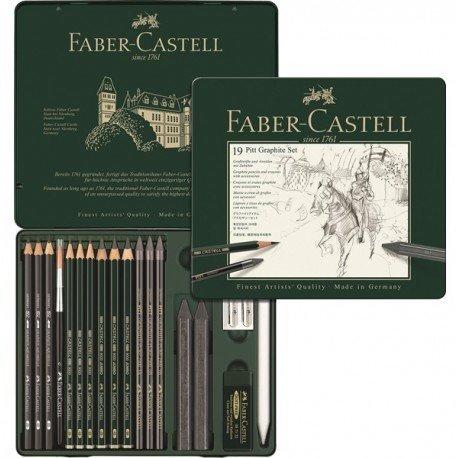 Faber Castell Pitt Graphite 19lu Set 112973