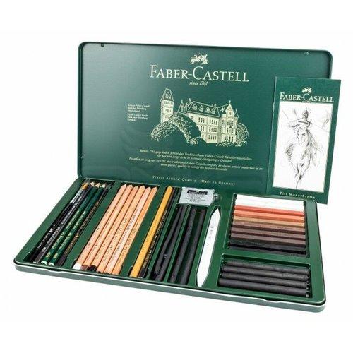 Faber Castell Pitt Monochrome Set