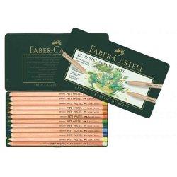 Faber Castell - Faber Castell Pitt Pastel Boya Kalemi 12 Renk