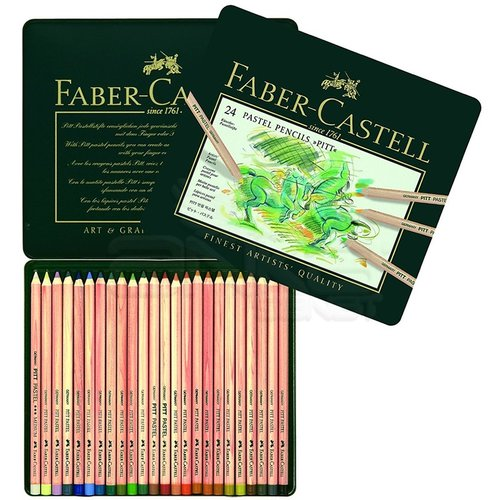 Faber Castell Pitt Pastel Boya Kalemi 24 Renk