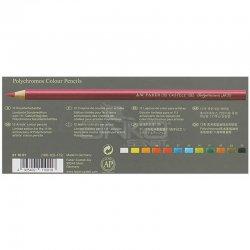 Faber Castell - Faber Castell Polychromos 111. Yıl Boya Kalemi 12li Set 211001 (1)