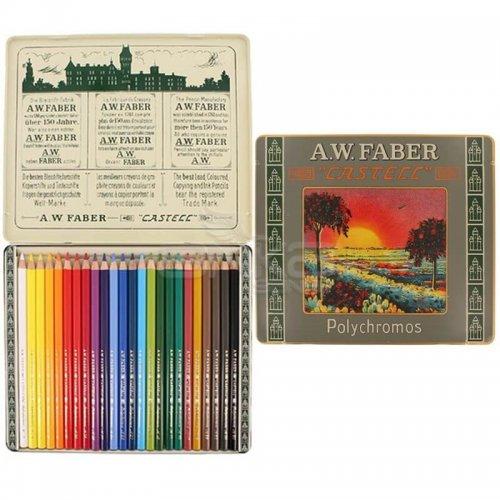 Faber Castell Polychromos 111. Yıl Boya Kalemi 24lü Set 211002