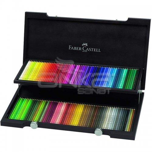 Faber Castell Polychromos Colour Pencils 120li Set Ahşap Kutu