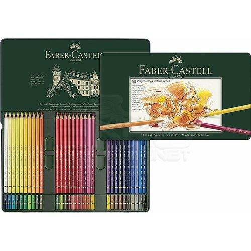 Faber Castell Polychromos Colour Pencils 60lı Set