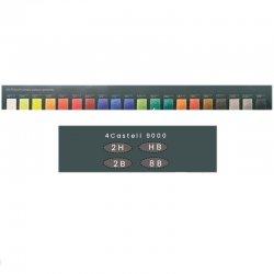 Faber Castell Polychromos Colour Pencils+Castell 9000 210051 - Thumbnail