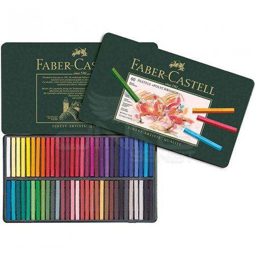 Faber Castell Polychromos Pastel Boya 60lı Set Metal Kutu