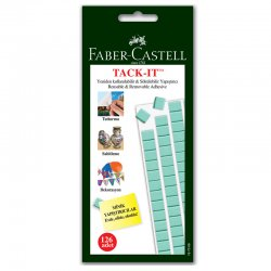 Faber Castell - Faber Castell Tack-it Yeşil 75g
