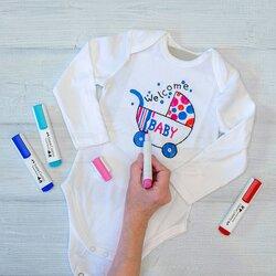 Faber Castell - Faber Castell Textile Marker Kumaş Kalemi (1)