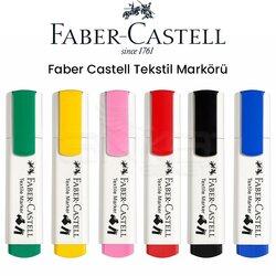 Faber Castell Textile Marker Kumaş Kalemi - Thumbnail