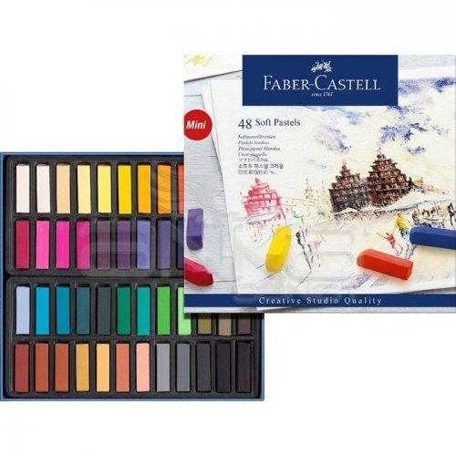 Faber Castell Creative Studio Yarım Boy Soft Pastel 48li