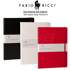 Fabio Ricci - Fabio Ricci Elio Noktalı Not Defteri 160 Sayfa 80g 19x25cm