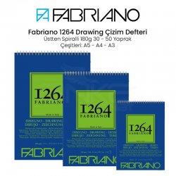 Fabriano - Fabriano 1264 Drawing Paper Çizim Defteri Üstten Spiralli 180g