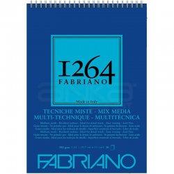 Fabriano - Fabriano 1264 Mix Media Çok Amaçlı Çizim Defteri Üstten Spiralli 300g (1)