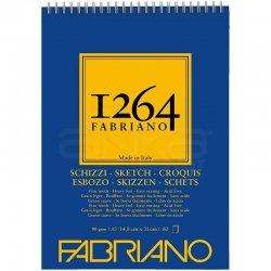 Fabriano - Fabriano 1264 Sketch Paper Eskiz Defteri Üstten Spiralli 90g (1)
