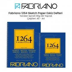 Fabriano 1264 Sketch Paper Eskiz Defteri Yandan Spiralli 90g - Thumbnail