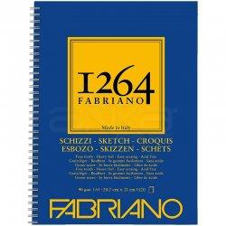 Fabriano - Fabriano 1264 Sketch Paper Eskiz Defteri Yandan Spiralli 90g (1)