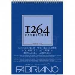 Fabriano 1264 Watercolour Sulu Boya Defteri Üstten Spiralli 300g - Thumbnail