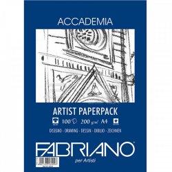 Fabriano Accademia Artist Paperback A4 100 Yaprak 200g - Thumbnail