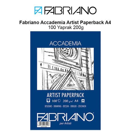 Fabriano Accademia Artist Paperback A4 100 Yaprak 200g