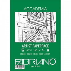 Fabriano Accademia Artist Paperback A4 150 Yaprak 160g - Thumbnail