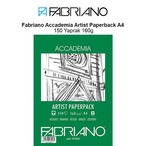 Fabriano Accademia Artist Paperback A4 150 Yaprak 160g