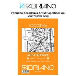 Fabriano Accademia Artist Paperback A4 200 Yaprak 120g - Thumbnail