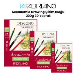 Fabriano - Fabriano Accademia Drawing Çizim Bloğu 200g 30 Yaprak