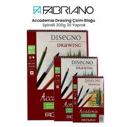 Fabriano - Fabriano Accademia Drawing Çizim Bloğu Spiralli 200g 30 Yaprak