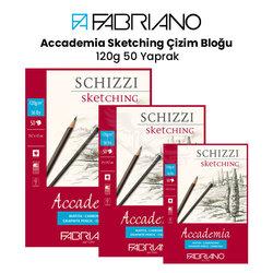 Fabriano - Fabriano Accademia Sketching Çizim Bloğu 120g 50 Yaprak
