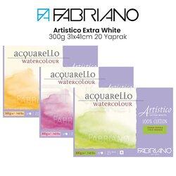 Fabriano - Fabriano Artistico Extra White 300g 31x41cm 20 Yaprak