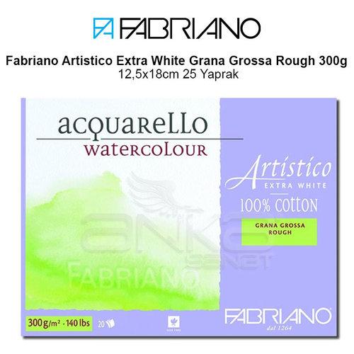 Fabriano Artistico Extra White Grana Grossa Rough 300g 12,5x18cm 25 Yaprak