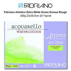 Fabriano - Fabriano Artistico Extra White Grana Grossa Rough 300g 23x30,5cm 20 Yaprak