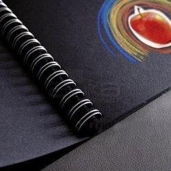 Fabriano - Fabriano Black Drawing Spiralli Siyah Çizim Defteri 40 Yaprak 190g (1)