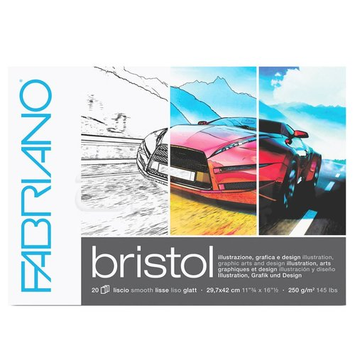 Fabriano Bristol Marker Pad 250g