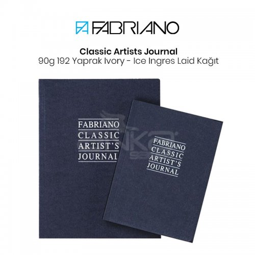 Fabriano Classic Artists Journal 90g 192 Sayfa