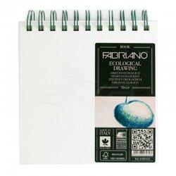 Fabriano - Fabriano Ecological Drawing Spiralli Çizim Defteri Kare 70 Yaprak 120g (1)
