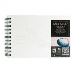 Fabriano - Fabriano Ecological Drawing Spiralli Çizim Defteri Yatay 70 Yaprak 120g (1)