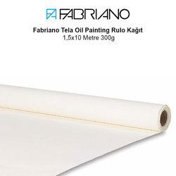 Fabriano - Fabriano Tela Oil Painting Rulo Kağıt 1,5x10 Metre 300g