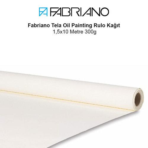 Fabriano Tela Oil Painting Rulo Kağıt 1,5x10 Metre 300g