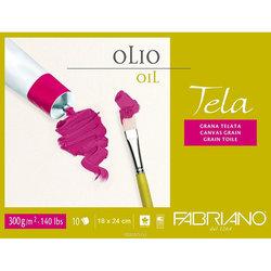 Fabriano - Fabriano Tela Yağlı Boya Blok Defter 300g 10 Yaprak (1)