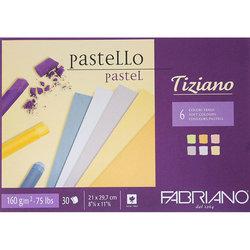 Fabriano - Fabriano Tiziano Pastel Blok 6 Soft Colors 160g 30 Sayfa (1)