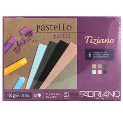 Fabriano - Fabriano Tiziano Pastel Blok 6 Brizzati Colours 160g 30 Sayfa (1)