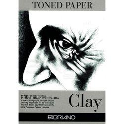 Fabriano - Fabriano Toned Paper Çizim Defteri 120g 50 Yaprak 21x29.7cm Clay
